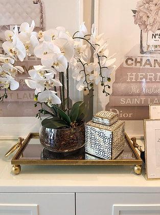 Faux Orchid (Six Stem)