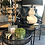 Thumbnail: Black Cane Nesting Tables (with glass tops)