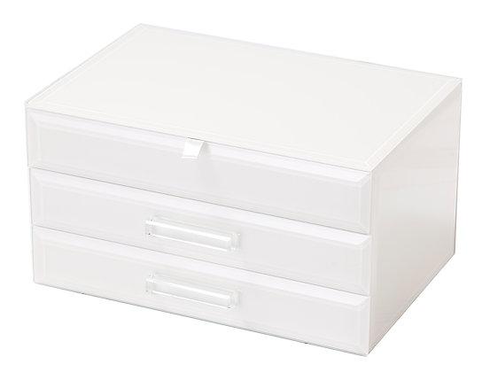 White Jewellery Box (Medium)