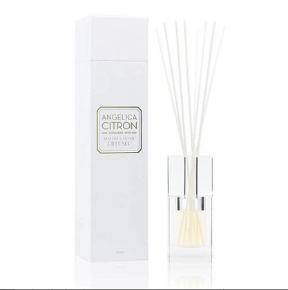Angelica Citron - Bevelled Crystal Diffuser (140ml)