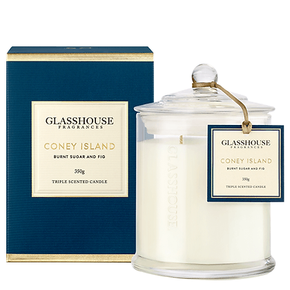 Glasshouse Triple Scented Candle - Coney Island (350g)