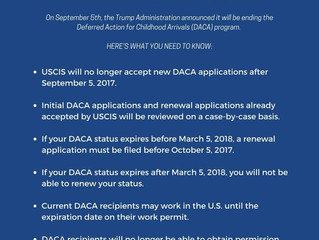 Trump Administration Announces End of DACA Program