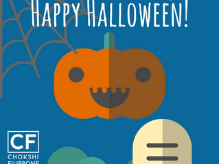 Enjoy a safe and happy Halloween!