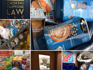 Thanksgiving Food Drive Success