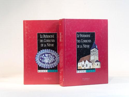 Le Patrimoine des communes de la Nièvre en 2 volumes