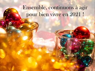 Nous souhaitons une bonne année!