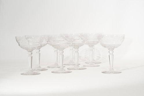 9 Coupes à Champagne