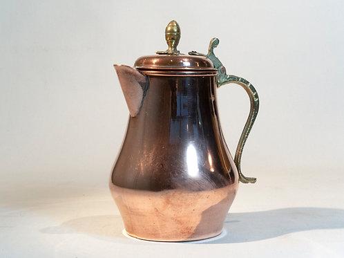 Cafetière en cuivre