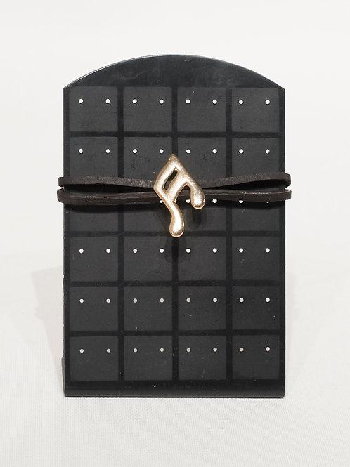 Broche en forme de note de musique