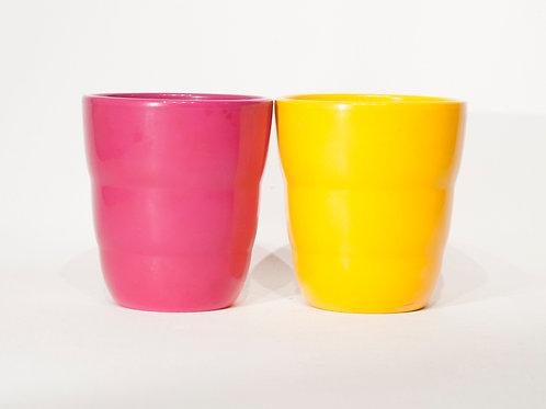 Lot de 2 cache-pots en céramique