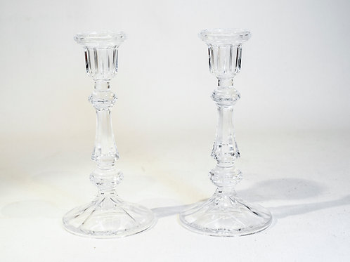 Bougeoirs Cristal d'Arques