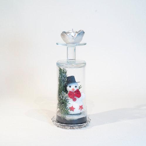 Verre décoratif, thème Noël