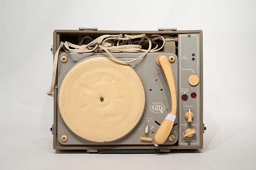 Ancien tourne-disque Électrophone GID