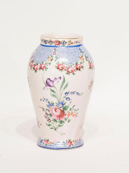 Vase faience de Clamecy