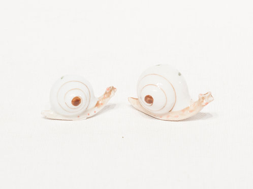 Escargots en céramique