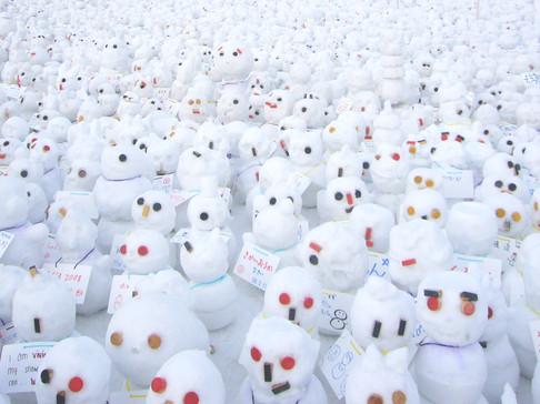 雪だるまラッシュ!
