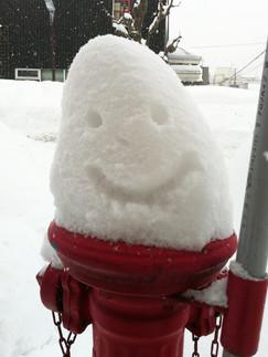 雪おむすび
