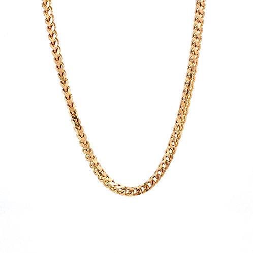 "14kt Yellow Gold 22"" 1.85mm Franco Link Chain"