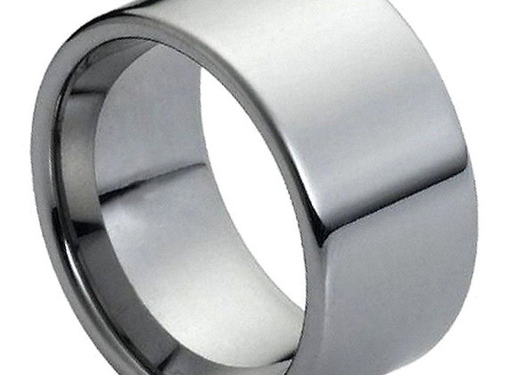 Gray Tungsten High Polished Gents Band