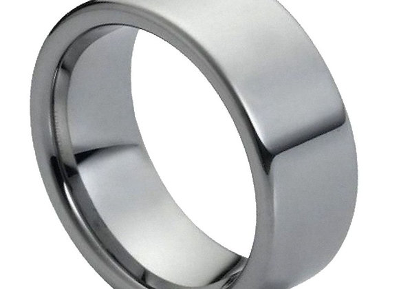 Gray Tungsten Polished Gents Band