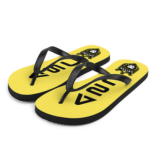 ASC Yellow/Black Flip-Flops