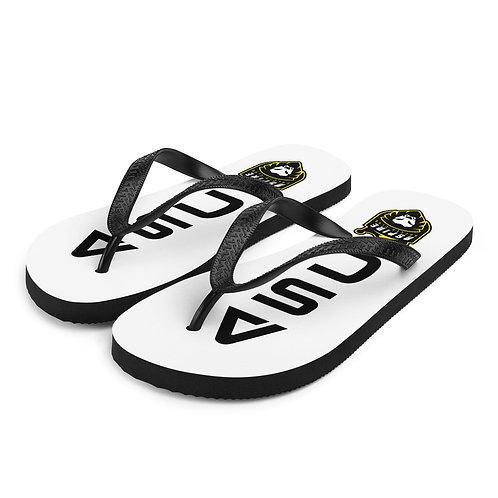 ASC White/Black Flip-Flops