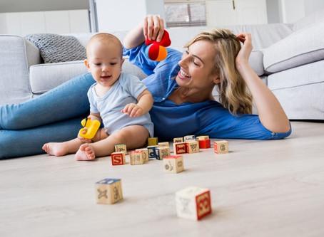 Brincadeiras que ajudam a estimular o seu bebê