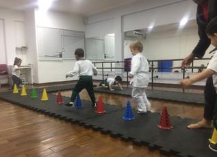 Aula de Jiu-Jitsu - Maternal