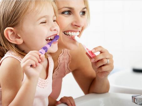 Cuidados e Prevenções com a Saúde Bucal das crianças