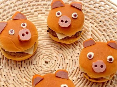 Faça você mesmo: Receita de hambúrguer de porquinho