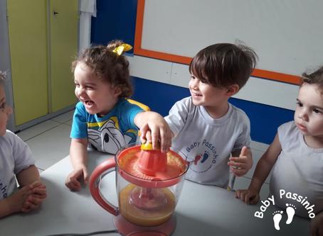 Maternalzinho - Aula de Culinária