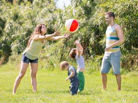 Brincar ao ar livre só faz bem