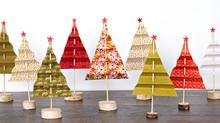 Como montar Mini Árvores de Natal com as crianças em casa