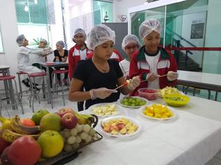 Aula de Culinária - Frutas