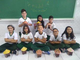Dia do Índio - 5º ano A