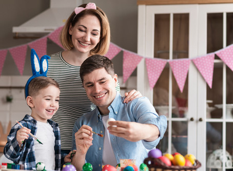 10 brincadeiras de Páscoa para fazer com as crianças em casa