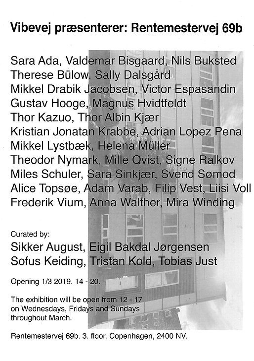 OTP Exhibition Review Rentemestervej 69b Videvej Art Galley Exhibtion London Edinburgh Copenhagen 2019