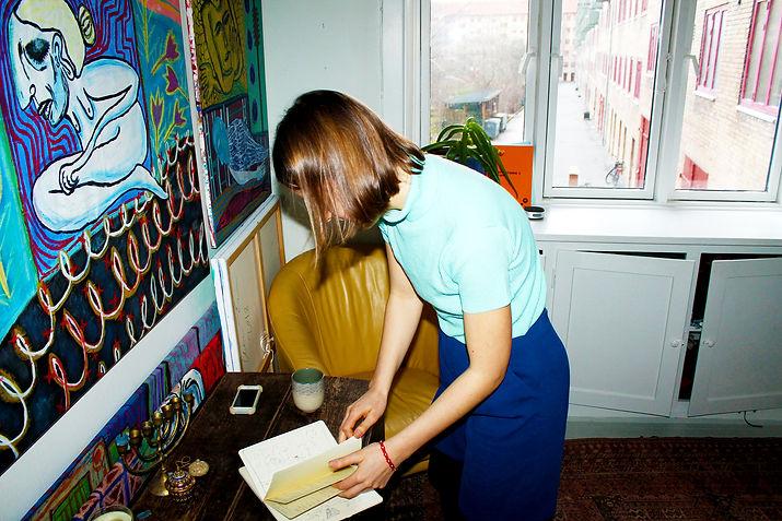 OTP Artist Interview Cecilia Fiona Art Galley Exhibtion London Edinburgh Copenhagen 2019