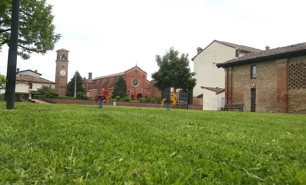 Parco Bambini di Beslan a Chiaravalle della Colomba (Alseno-PC)