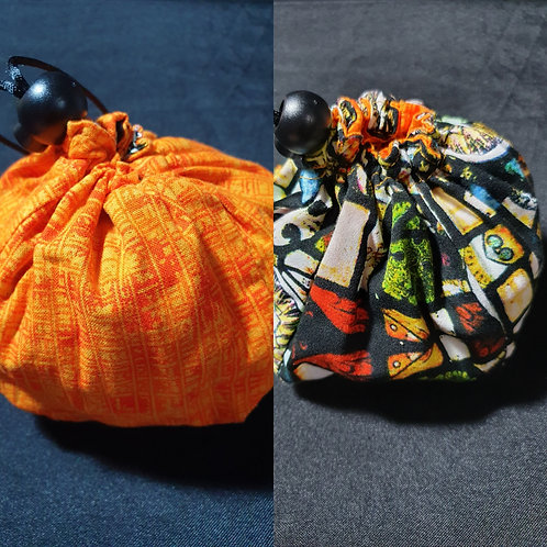 Reversible Dice Bag - Old Style