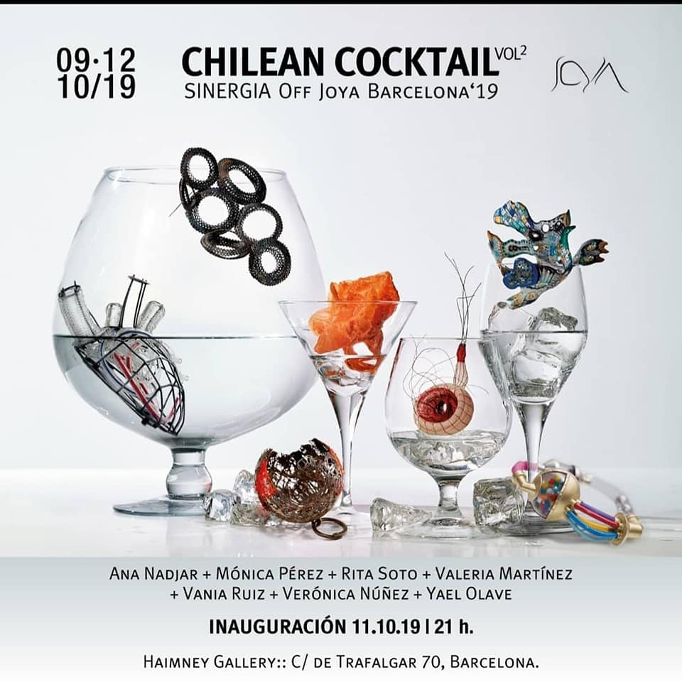 Chilean Cocktail 2019 en Off Joya Barcelona