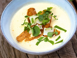 Recipe: Spargelsuppe