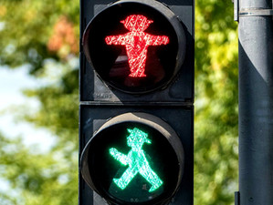 Ampelmännchen: the little traffic light man with a lot of Ostalgic charm