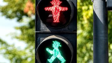 Ampelmännchen: the little traffic light man with a lot of Ostalgic charm