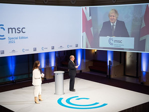 Weekly update: Prime Minister addresses Munich Security Conference, White Rose Project event