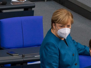 Merkel receives AstraZeneca COVID vaccine