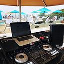Terranea resort pool party with Dj Oz Productions