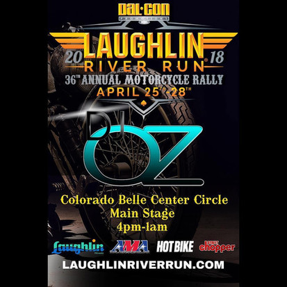 Dj Oz Productions Laughlin River run festival