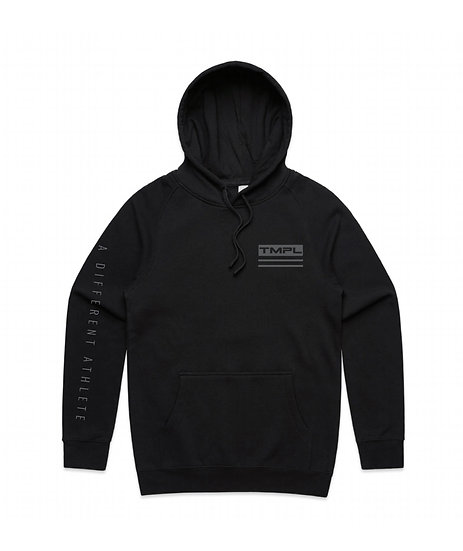 "TMPL ""Different Athlete"" Hoodie Grey/Black"