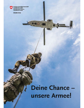Flyer <<Deine Chance - unsere Armee!>>